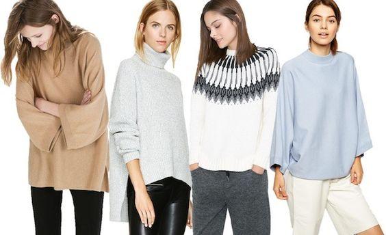 Cómo combinar jerséis en otoño invierno